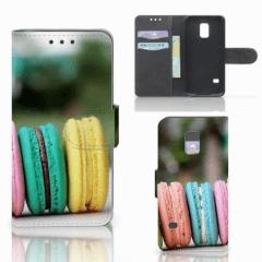 Samsung Galaxy S5 Mini Book Cover Macarons