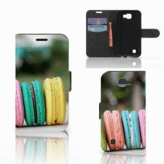 LG K4 Book Cover Macarons