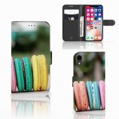 Apple iPhone Xr Book Cover Macarons