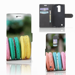 LG K10 2015 Book Cover Macarons