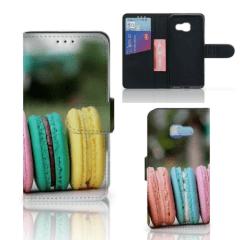 Samsung Galaxy A3 2017 Book Cover Macarons