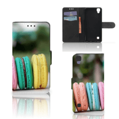 LG X Style Book Cover Macarons