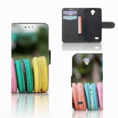 Huawei Y5 Y560 Book Cover Macarons