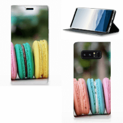 Samsung Galaxy Note 8 Flip Style Cover Macarons