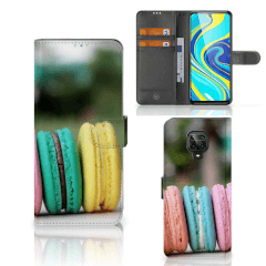 Xiaomi Redmi Note 9 Pro | Note 9S Book Cover Macarons