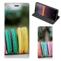 Sony Xperia 10 II Flip Style Cover Macarons