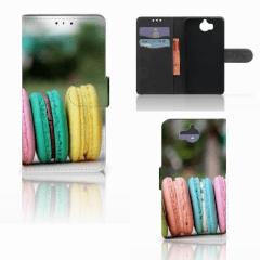 Huawei Y5 | Y6 2017 Book Cover Macarons