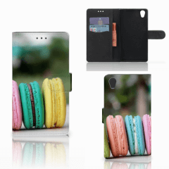 Sony Xperia L1 Book Cover Macarons