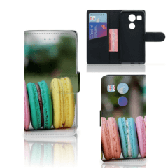 LG Nexus 5X Book Cover Macarons