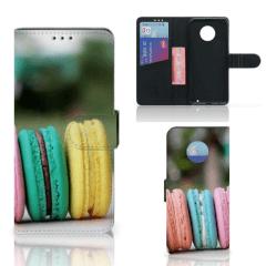 Motorola Moto G6 Plus Book Cover Macarons