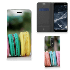 Nokia 5.1 (2018) Flip Style Cover Macarons