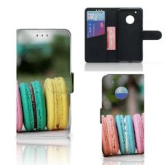Motorola Moto G5 Plus Book Cover Macarons
