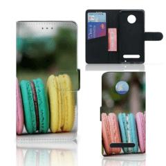 Motorola Moto Z2 Play Book Cover Macarons