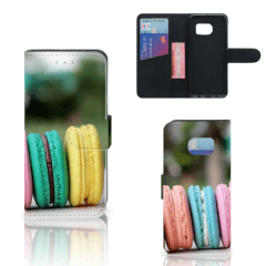 Samsung Galaxy S6 Edge Book Cover Macarons