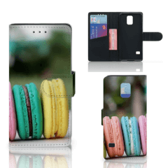 Samsung Galaxy S5   S5 Neo Book Cover Macarons