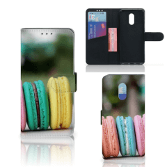 OnePlus 6T Book Cover Macarons