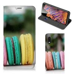 Samsung Xcover Pro Flip Style Cover Macarons