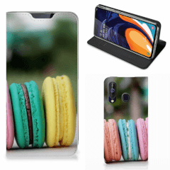 Samsung Galaxy A60 Flip Style Cover Macarons