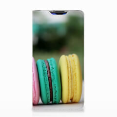 Huawei P30 Flip Style Cover Macarons