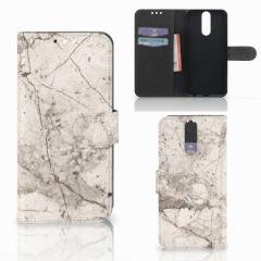 Huawei Mate 10 Lite Bookcase Marmer Beige
