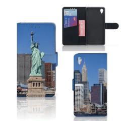 Sony Xperia Z2 Flip Cover Vrijheidsbeeld