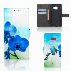 HTC U Ultra Hoesje Orchidee Blauw - Cadeau voor je Moeder