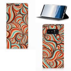 Samsung Galaxy Note 8 Bookcase Retro