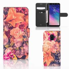 Samsung Galaxy A6 2018 Hoesje Bosje Bloemen