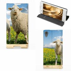 Sony Xperia XA1 Hoesje maken Schaap en Lammetje