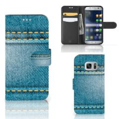 Samsung Galaxy S7 Wallet Case met Pasjes Jeans