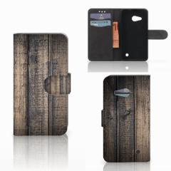 Microsoft Lumia 550 Book Style Case Steigerhout
