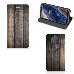 Nokia 9 PureView Book Wallet Case Steigerhout