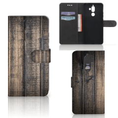 Nokia 7 Plus Book Style Case Steigerhout
