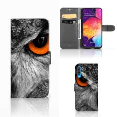 Samsung Galaxy A50 Telefoonhoesje met Pasjes Uil