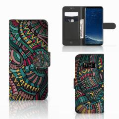 Samsung Galaxy S8 Telefoon Hoesje Aztec