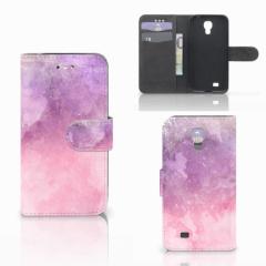 Hoesje Samsung Galaxy S4 Pink Purple Paint