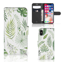 Apple iPhone X | Xs Hoesje Leaves