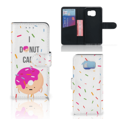 Samsung Galaxy S6 | S6 Duos Book Cover Donut Roze