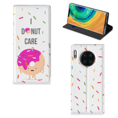 Huawei Mate 30 Pro Flip Style Cover Donut Roze