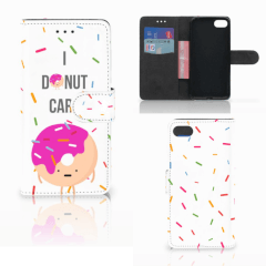 Huawei Y5 2018 Book Cover Donut Roze