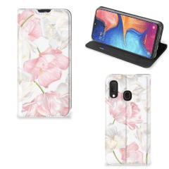 Samsung Galaxy A20e Smart Cover Lovely Flowers