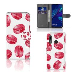 Huawei P Smart Plus (2019) Book Cover Pink Macarons