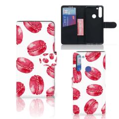 Motorola Moto G8 Book Cover Pink Macarons