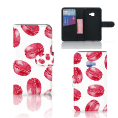 Samsung Galaxy Xcover 4   Xcover 4s Book Cover Pink Macarons