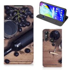 Motorola Moto G8 Power Flip Style Cover Wijn
