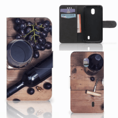 Nokia 1 Book Cover Wijn