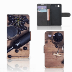 Sony Xperia Z3 Compact Book Cover Wijn