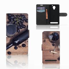 Lenovo C2 Power Book Cover Wijn