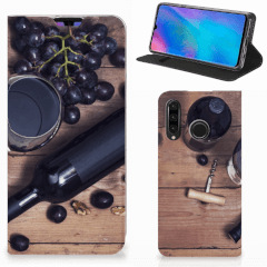 Huawei P30 Lite New Edition Flip Style Cover Wijn