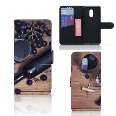 OnePlus 6T Book Cover Wijn